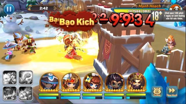 Ngoài đội hình chính, game quẩy Tết Tiểu Tiểu Tam Quốc Chí còn cho triệu hồi cả Xe bắn đá, Lính gỡ bom, Đạo quân Cừu max vui - Ảnh 6.
