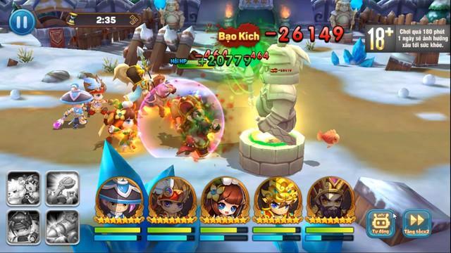 Ngoài đội hình chính, game quẩy Tết Tiểu Tiểu Tam Quốc Chí còn cho triệu hồi cả Xe bắn đá, Lính gỡ bom, Đạo quân Cừu max vui - Ảnh 8.