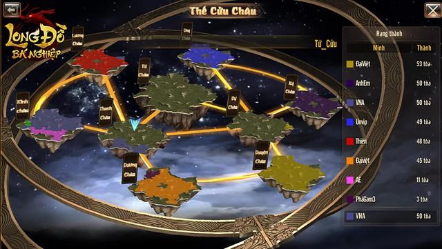 """Long Đồ Bá Nghiệp: Chiến sự trong game mà """"máu lửa"""" không khác gì trên phim ảnh, 6 thế lực cùng dồn binh mã, công phá Cửu Châu - Ảnh 2."""