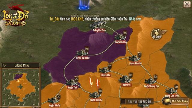 """Long Đồ Bá Nghiệp: Chiến sự trong game mà """"máu lửa"""" không khác gì trên phim ảnh, 6 thế lực cùng dồn binh mã, công phá Cửu Châu - Ảnh 3."""
