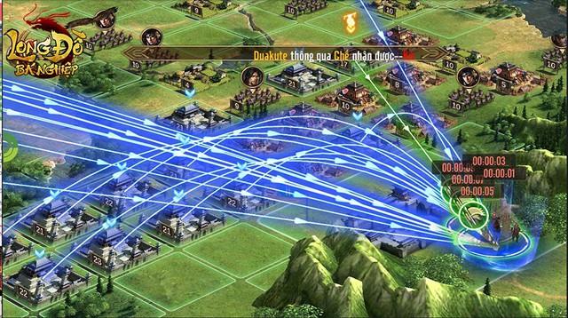 """Long Đồ Bá Nghiệp: Chiến sự trong game mà """"máu lửa"""" không khác gì trên phim ảnh, 6 thế lực cùng dồn binh mã, công phá Cửu Châu - Ảnh 6."""