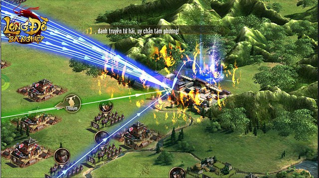 """Long Đồ Bá Nghiệp: Chiến sự trong game mà """"máu lửa"""" không khác gì trên phim ảnh, 6 thế lực cùng dồn binh mã, công phá Cửu Châu - Ảnh 7."""