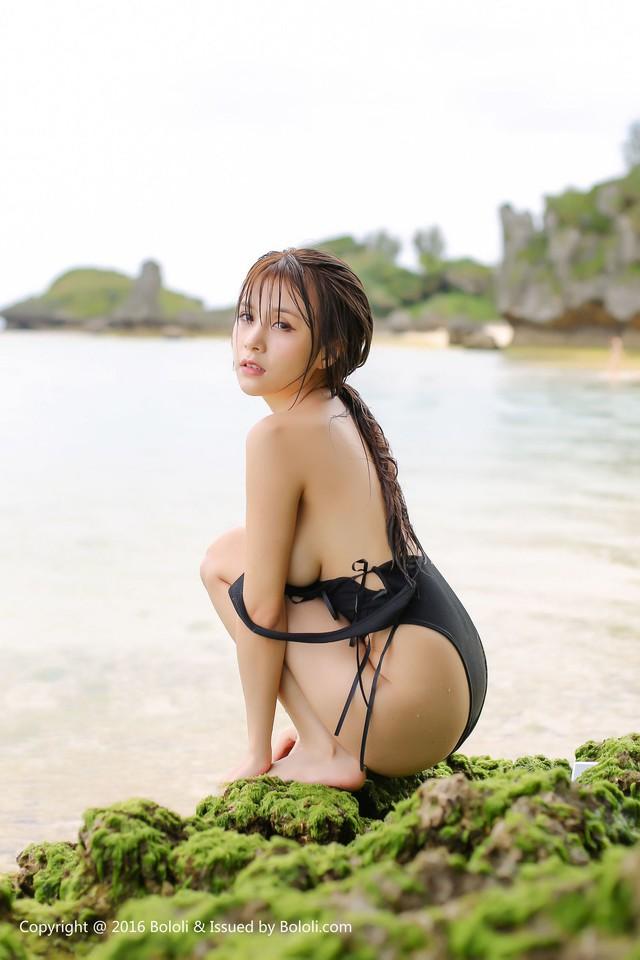 Nóng mắt với bộ ảnh áo tắm quá chật của thiên thần Xia Mei Jiang - Ảnh 8.