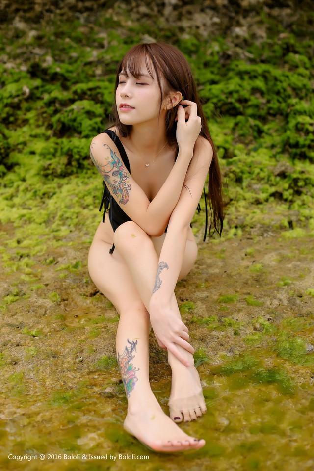 Nóng mắt với bộ ảnh áo tắm quá chật của thiên thần Xia Mei Jiang - Ảnh 18.
