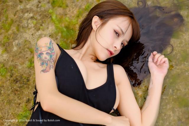 Nóng mắt với bộ ảnh áo tắm quá chật của thiên thần Xia Mei Jiang - Ảnh 26.