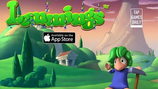 Lemmings - Game vượt chướng ngại vật siêu hấp dẫn có khả năng gây nghiện cao - Ảnh 1.