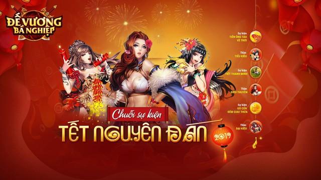 """Đế Vương Bá Nghiệp ra mắt chuỗi event đón Tết Nguyên Đán cùng 3 nữ thần """"hàng khủng"""" - Ảnh 1."""