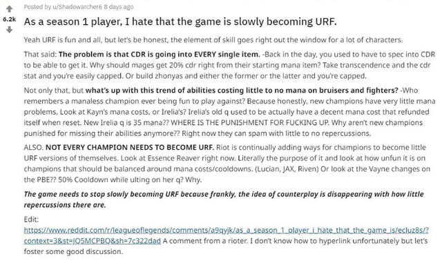 LMHT: Cái gì nhiều quá cũng không tốt, đây là những cơ chế đang bị Riot Games lạm dụng quá đà khiến game thủ khó chịu ra mặt - Ảnh 1.