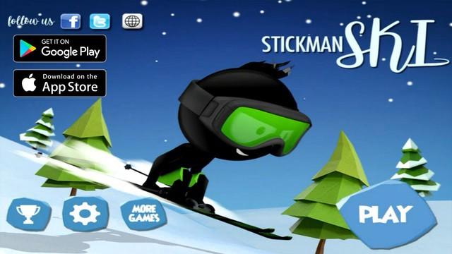 Stickman Ski - Game mobile đỉnh cao của sự đơn giản - Ảnh 1.
