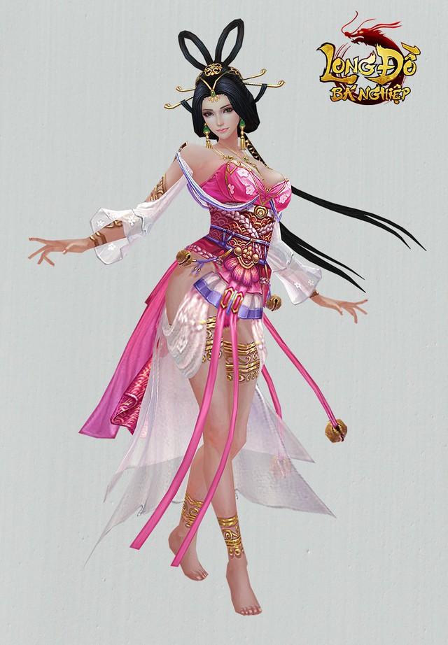 Ngạc nhiên trước tạo hình nhân vật 3D của Long Đồ Bá Nghiệp: Đẹp tuyệt vời như thế này mà là game mobile SLG sao? - Ảnh 5.