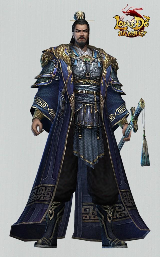 Ngạc nhiên trước tạo hình nhân vật 3D của Long Đồ Bá Nghiệp: Đẹp tuyệt vời như thế này mà là game mobile SLG sao? - Ảnh 10.