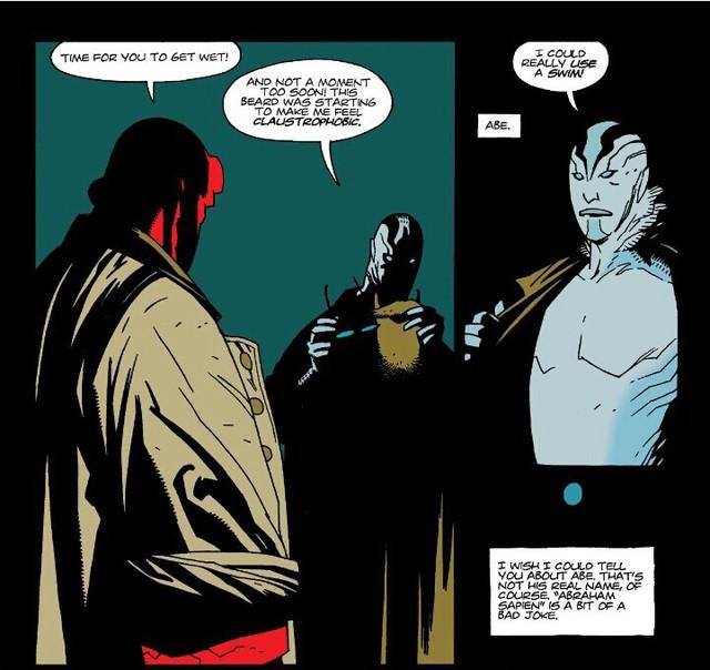 """Huyền thoại về Abe Sapien, gã """"người cá"""" thượng đẳng đồng hành cùng Chúa tể địa ngục Hellboy - Ảnh 1."""