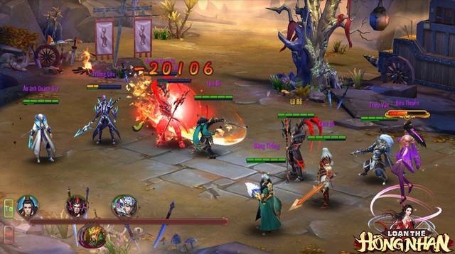 Loạn Thế Hồng Nhan có hẳn một tính năng riêng cho người chơi tham gia vào các trận đánh lịch sử thời Tam Quốc - Ảnh 5.