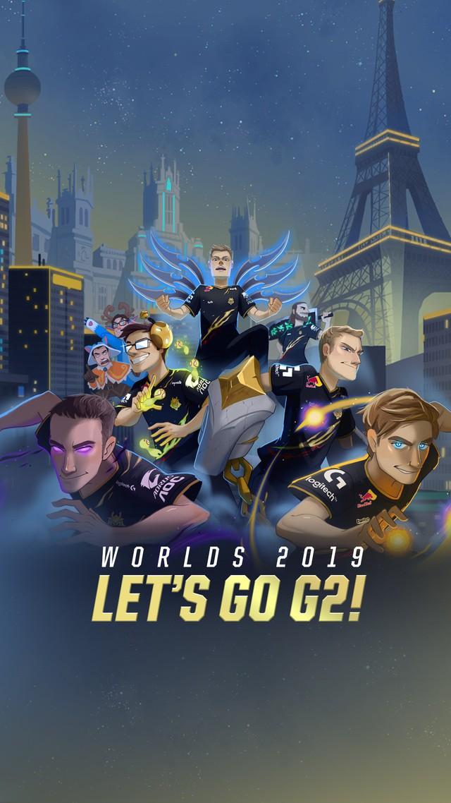 LMHT: Vòng bảng CKTG chưa bắt đầu mà các thành viên G2 Esports đã chọn xong trang phục vô địch? - Ảnh 3.