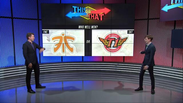 LMHT: Các chuyên gia của Riot tranh cãi nảy lửa khi phải chọn ra SKT T1 hay Fnatic là đội chiến thắng - Ảnh 2.