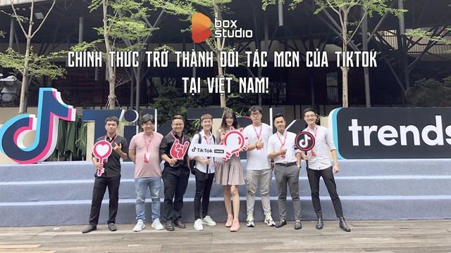 Box Studio chính thức trở thành đối tác MCN của Tik Tok tại Việt Nam - Ảnh 1.