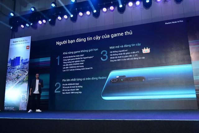 Smartphone siêu phẩm Redmi Note 8 Pro ra mắt tại Việt Nam: Chiến game mạnh mẽ, pin trâu, camera tuyệt đẹp giá chỉ từ 6 triệu đồng - Ảnh 3.