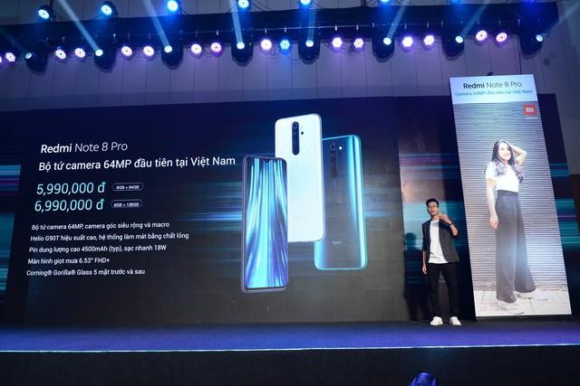 Smartphone siêu phẩm Redmi Note 8 Pro ra mắt tại Việt Nam: Chiến game mạnh mẽ, pin trâu, camera tuyệt đẹp giá chỉ từ 6 triệu đồng - Ảnh 4.