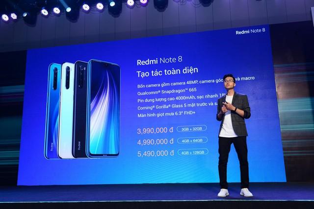 Smartphone siêu phẩm Redmi Note 8 Pro ra mắt tại Việt Nam: Chiến game mạnh mẽ, pin trâu, camera tuyệt đẹp giá chỉ từ 6 triệu đồng - Ảnh 8.