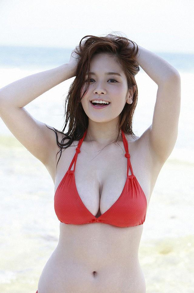 Đây chính là hot girl sở hữu đôi gò bồng đảo cup H cực phẩm, đẹp phồn thực nhất Nhật Bản - Ảnh 13.