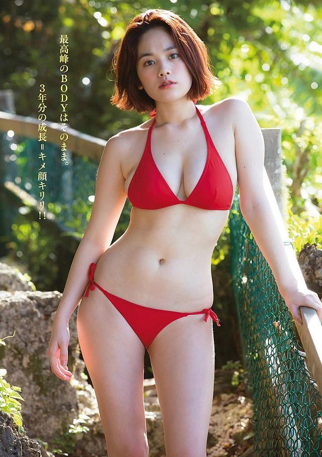 Đây chính là hot girl sở hữu đôi gò bồng đảo cup H cực phẩm, đẹp phồn thực nhất Nhật Bản - Ảnh 16.
