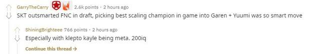 LMHT - Giúp SKT hủy diệt Fnatic, Faker khiến cả thế giới trầm trồ: Cậu ấy cứ đánh thế này thì vô địch mất thôi - Ảnh 3.