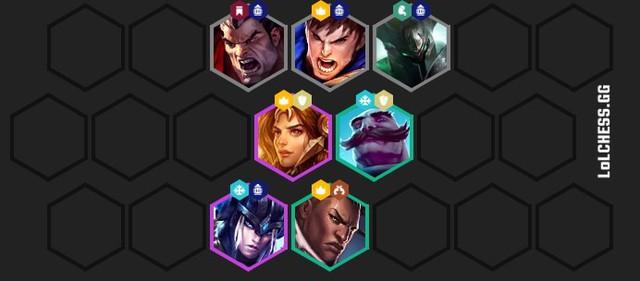 Đấu Trường Chân Lý: Tìm hiểu đội hình siêu phòng thủ Hiệp Sĩ - Hộ Vệ khắc chế meta cực mạnh - Ảnh 3.