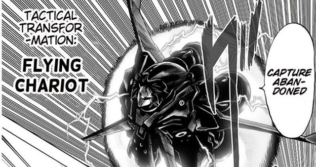 One-Punch Man: Nhìn lại 6 phép biến đổi chiến thuật mà Drive Knight dùng để hạ quái vật cấp rồng Nyan - Ảnh 3.