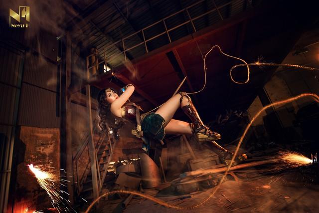 Xem loạt ảnh cosplay Wonder Woman đầy khí chất Chị Đại của coser người Việt Neyu H - Ảnh 7.