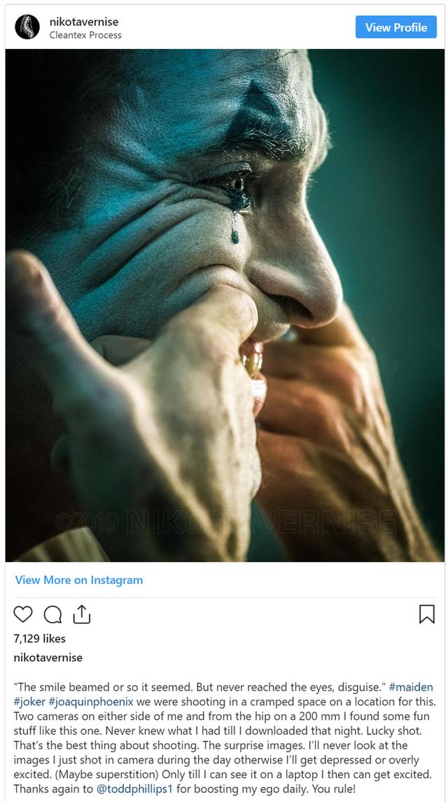 Ảnh hậu trường phim Joker siêu lung linh được chụp từ chiếc máy ảnh đời cũ - Ảnh 5.