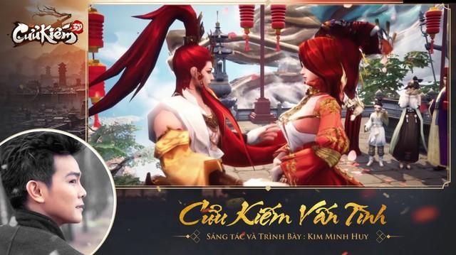Kim Minh Huy viết ca khúc riêng tặng Cửu Kiếm 3D, cộng đồng võ lâm cả triệu trái tim cùng nhìn về một hướng - Ảnh 3.