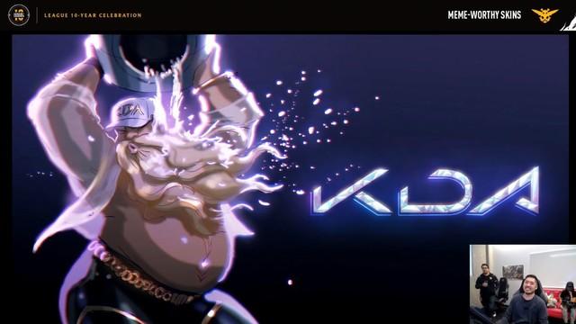 LMHT: Chiều yêu cầu fan, Riot Games thiết kế hàng loạt trang phục siêu dị trong đó có K/DA Gragas - Ảnh 5.