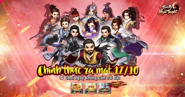 Thiên Hạ Ngũ Tuyệt - Game kiếm hiệp H5 chính thức ra mắt hôm nay 17/10 - Ảnh 1.