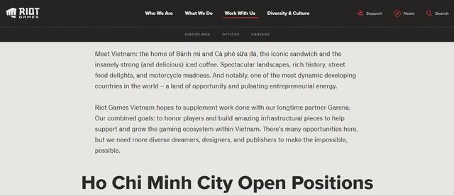 Riot mở trụ sở tại Thành phố Hồ Chí Minh, nhưng Garena vẫn sẽ là NPH Liên Minh Huyền Thoại PC tại Việt Nam - Ảnh 4.