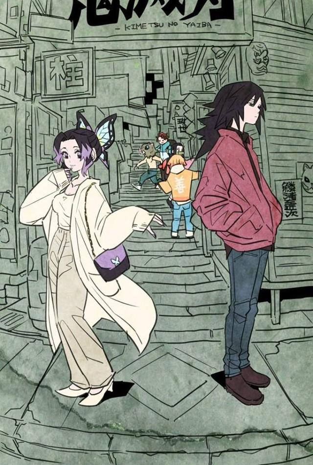 Các nhân vật trong Kimetsu no Yaiba trông sẽ thế nào nếu ở thời hiện đại? - Ảnh 4.