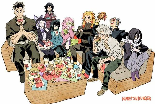 Các nhân vật trong Kimetsu no Yaiba trông sẽ thế nào nếu ở thời hiện đại? - Ảnh 7.