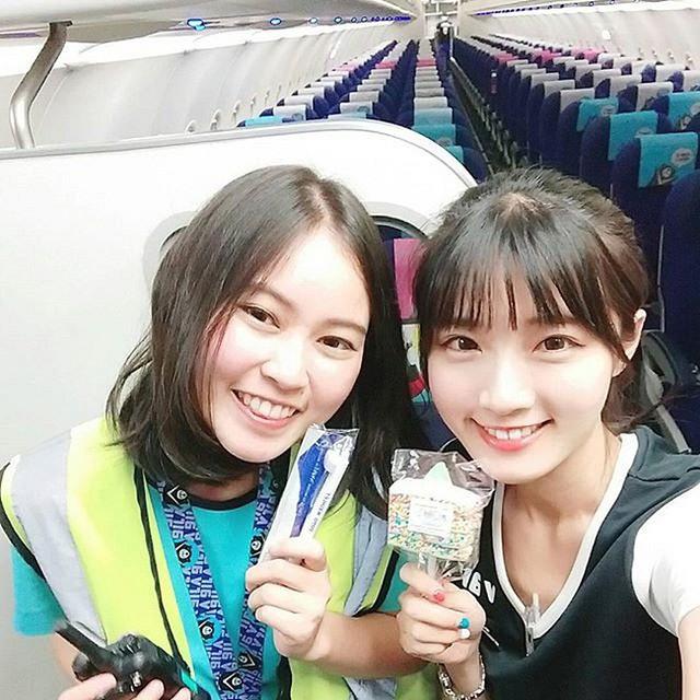 Cận cảnh nhan sắc xinh đẹp của 4 nữ tiếp viên hàng không bốc lửa nhất Đài Loan - Ảnh 12.