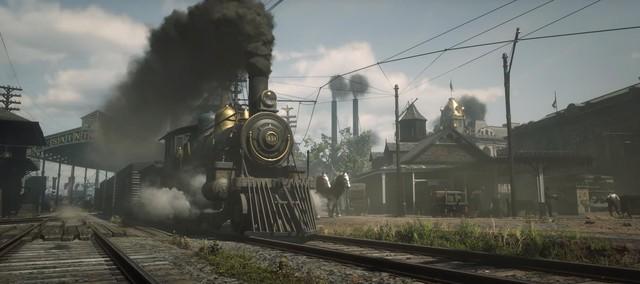 Ngỡ ngàng với nền độ họa 4K 60 FPS của Red Dead Redemption 2 PC - Ảnh 4.