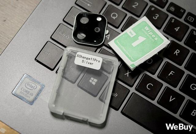 Trên tay miếng dán nâng cấp iPhone XS thành iPhone 11 Pro: giá 80 nghìn thôi nhưng mà đừng mua - Ảnh 3.
