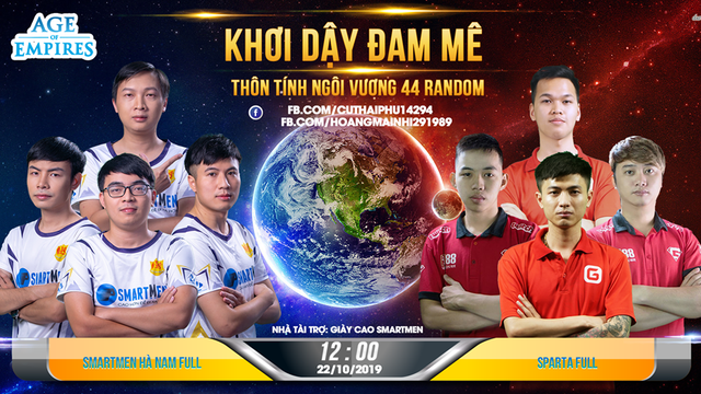 AoE Việt: Lời thách thức từ SmartMen Hà Nam đến Chim Sẻ Đi Nắng! - Ảnh 1.