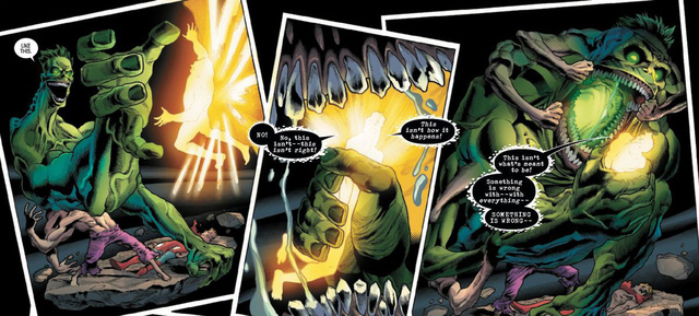 Soán ngôi Galactus, Immortal Hulk trở thành kẻ sống sót cuối cùng trong vũ trụ Marvel tương lai - Ảnh 4.