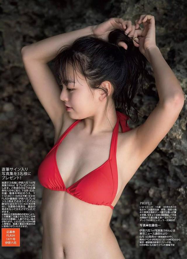 Các mỹ nhân Nhật có gương mặt ngây thơ nhưng body bốc lửa khó tin - Ảnh 8.