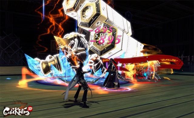 """500 loại Boss đủ mọi cấp độ, phân chia mức độ khó hệt như Dark Soul, Cửu Kiếm 3D định """"chơi khó"""" game thủ? - Ảnh 2."""