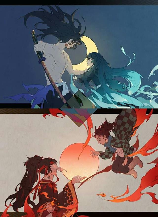 Ngắm loạt fan art tuyệt đẹp về Tokitou, chàng Hà Trụ vừa mới hy sinh trong Kimetsu no Yaiba - Ảnh 20.