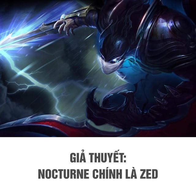 LMHT: Nocturne và Zed - 2 gã sát thủ khủng khiếp nhất trong Liên Minh thực chất là cùng một người? - Ảnh 1.