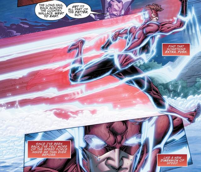 The Flash Wally West chính thức trở thành kẻ nhanh nhất ĐA VŨ TRỤ DC - Ảnh 7.