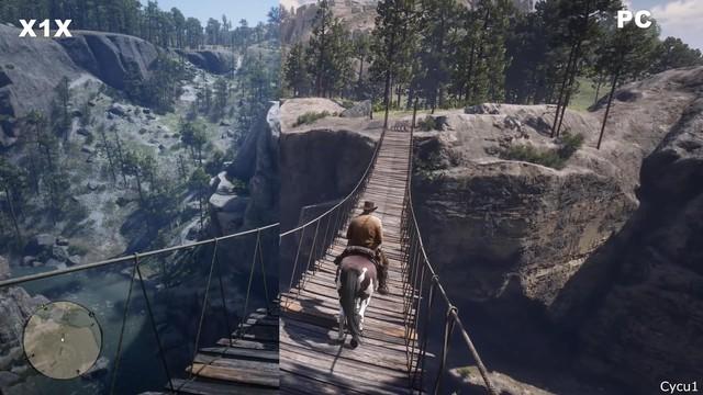 So sánh đồ họa Red Dead Redemption 2 trên Console và PC - Ảnh 3.