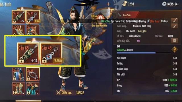 Game thủ duy nhất đập thành công cây Vũ Khí +14 trong Cửu Kiếm 3D Alpha Test: Tưởng nhân tài mới nổi ai ngờ lão đại làng game - Ảnh 4.
