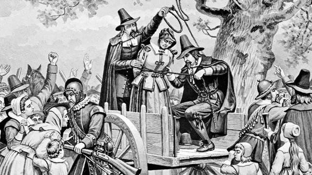 Thị trấn bị nguyền rủa Salem: Nguồn gốc của phù thủy và ma thuật hắc ám - Ảnh 3.