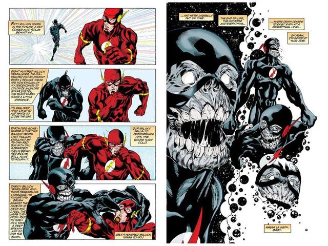 The Flash Wally West chính thức trở thành kẻ nhanh nhất ĐA VŨ TRỤ DC - Ảnh 2.